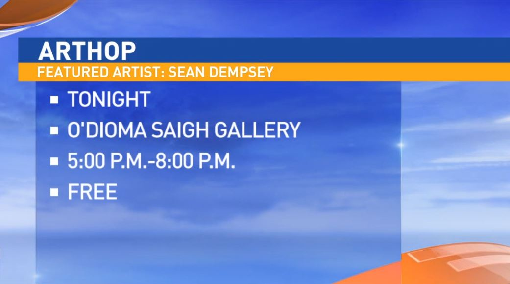 Sean Dempsey will be showing his works at O' Diomasaigh Studios in downtown Fresno