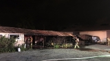 Incendio destruyo bodega comercial en West Palm Beach.