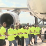 Plane pullers raise money for veterans