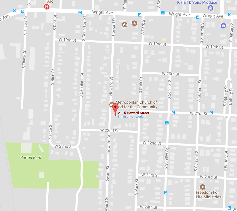 LRPD investigating early morning homicide at 2115 Howard Street. (Photo courtesy: Google Maps)