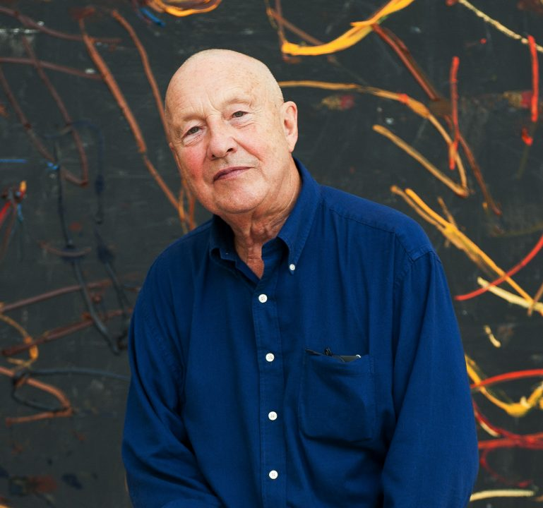 Through his career, German artist Georg Baselitz has shocked and surprised the world with his works. Don't miss his artist talk at the Hirshhorn Museum on June 20. (Image: Courtesy Hirshhorn Museum)