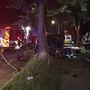 Man injured after car strikes tree in Trotwood
