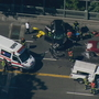 Major 3-car crash snarls traffic on Aurora Bridge