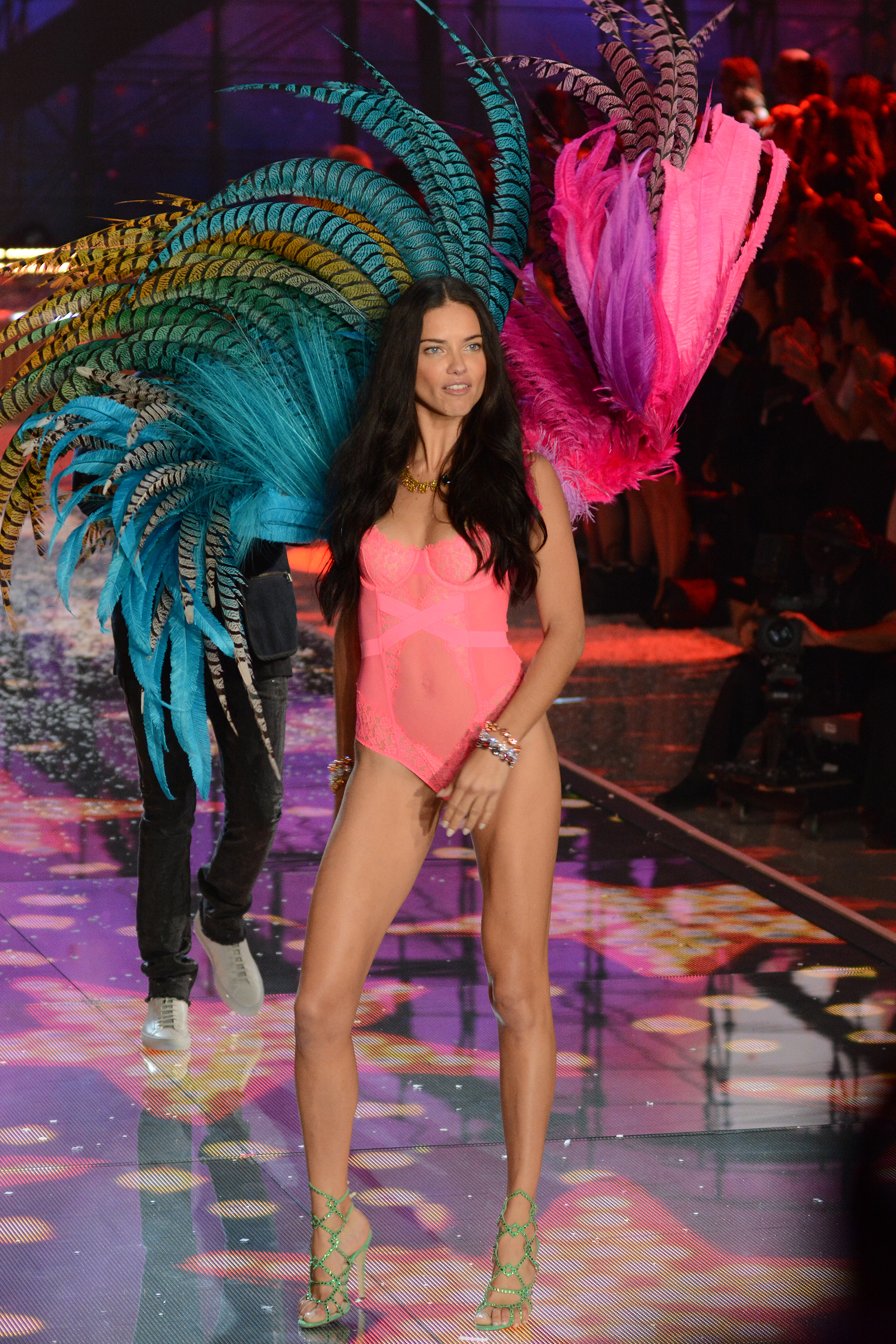 Adriana Lima at the 2015 Victoria's Secret Fashion Show ( Ivan Nikolov/WENN.com)