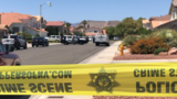 Police: Father shot dead, mom and son wounded in Vegas home