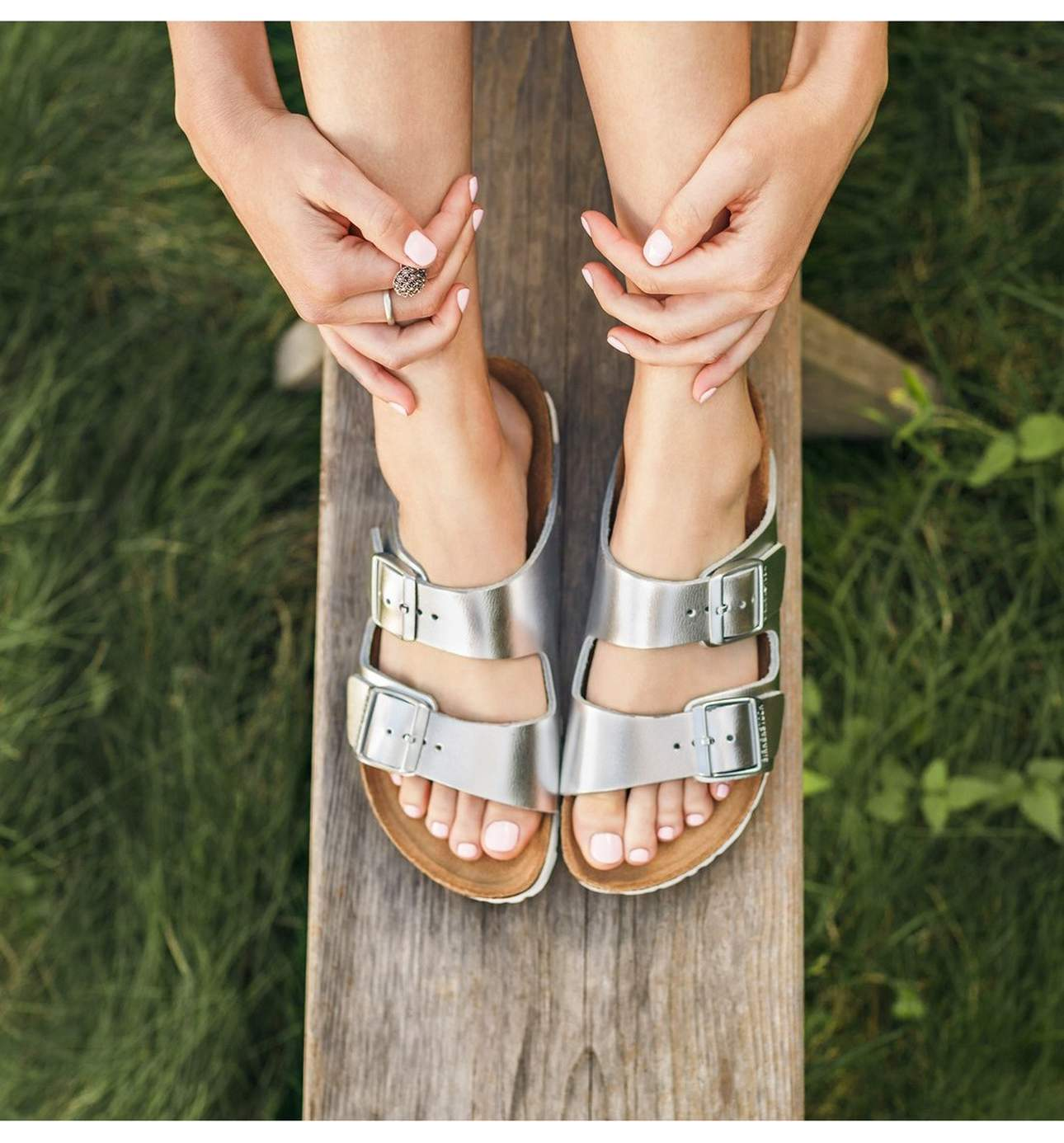 What's more Seattle than Birkenstocks?{ } Not much.{ } These gems have been around for ages and they are not going anywhere anytime soon.{ }Arizona Soft Footbed Sandal - $124.95. (Image: Nordstrom){ }