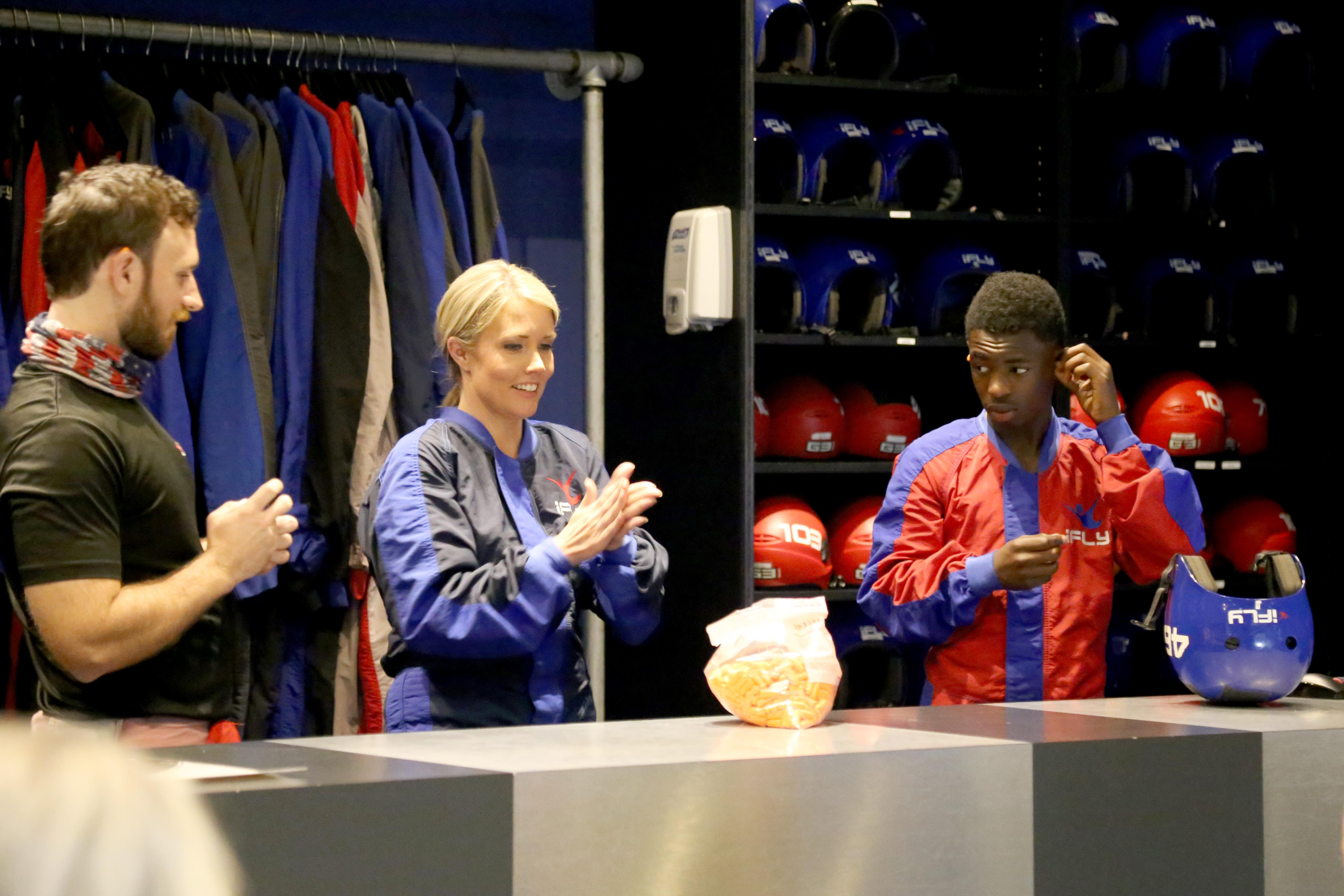 A teenager takes flight and tells us what makes his dreams soar. 15-year-old Devion made a few new friends and the memory of a lifetime at iFLY in Austin, an in-door skydiving experience. (Photo courtesy: Heart Gallery of Central Texas, a program of Partnerships for Children)