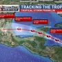 T.S. Franklin forecast to bring heavy rains to Yucatan
