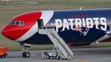 Gallery: Patriots' plane at T.F. Green Airport