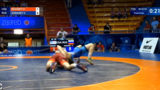 Moomey falls to Karasev in Cadet World Championships