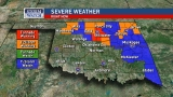 Tornado warning issued as storms move through Oklahoma