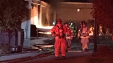 3-alarm Salt Lake fire burns storage structure, sends 1 to hospital