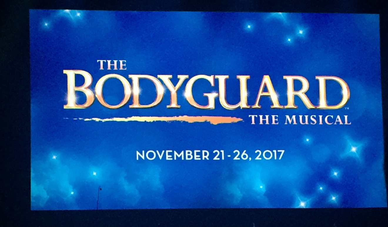 The Bodyguard - The Musical was revealed as an upcoming tour during the Smith Center for the Performing Arts 2017-2018 Broadway series preview Tuesday, Feb. 28, 2017, in Reynolds Hall. It will run in Las Vegas from Nov. 21-26, 2017 (Jami Seymore | KSNV)