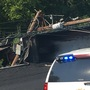 Driver dies after dump truck overturns in Prince George's County