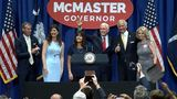 Vice President Pence campaigns for McMaster at CCU