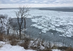 Ice conditions on Green Bay near Little Sturgeon in Door County.JPG