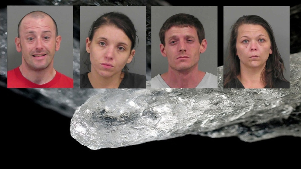 Four arrested in Catoosa County on meth charges | WTVC