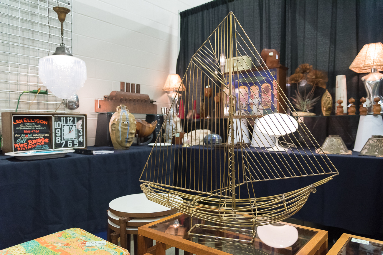 Now in its 25th year, 20th Century Cincinnati (a trade show featuring vintage modern art, furnishings, and fashion), returned to the Sharonville Convention Center this weekend, February 23-24. Over 70 dealers filled the 20,000-square-foot exhibit hall with furniture and more. For those who love vintage modern design, the show is a must-see. The show will wrap up on Sunday, February 24th at 5 PM. / Image: Cincinnati Refined // Published: 2.24.19