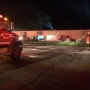 Several crews battle fire at Bremen fiberglass manufacturer