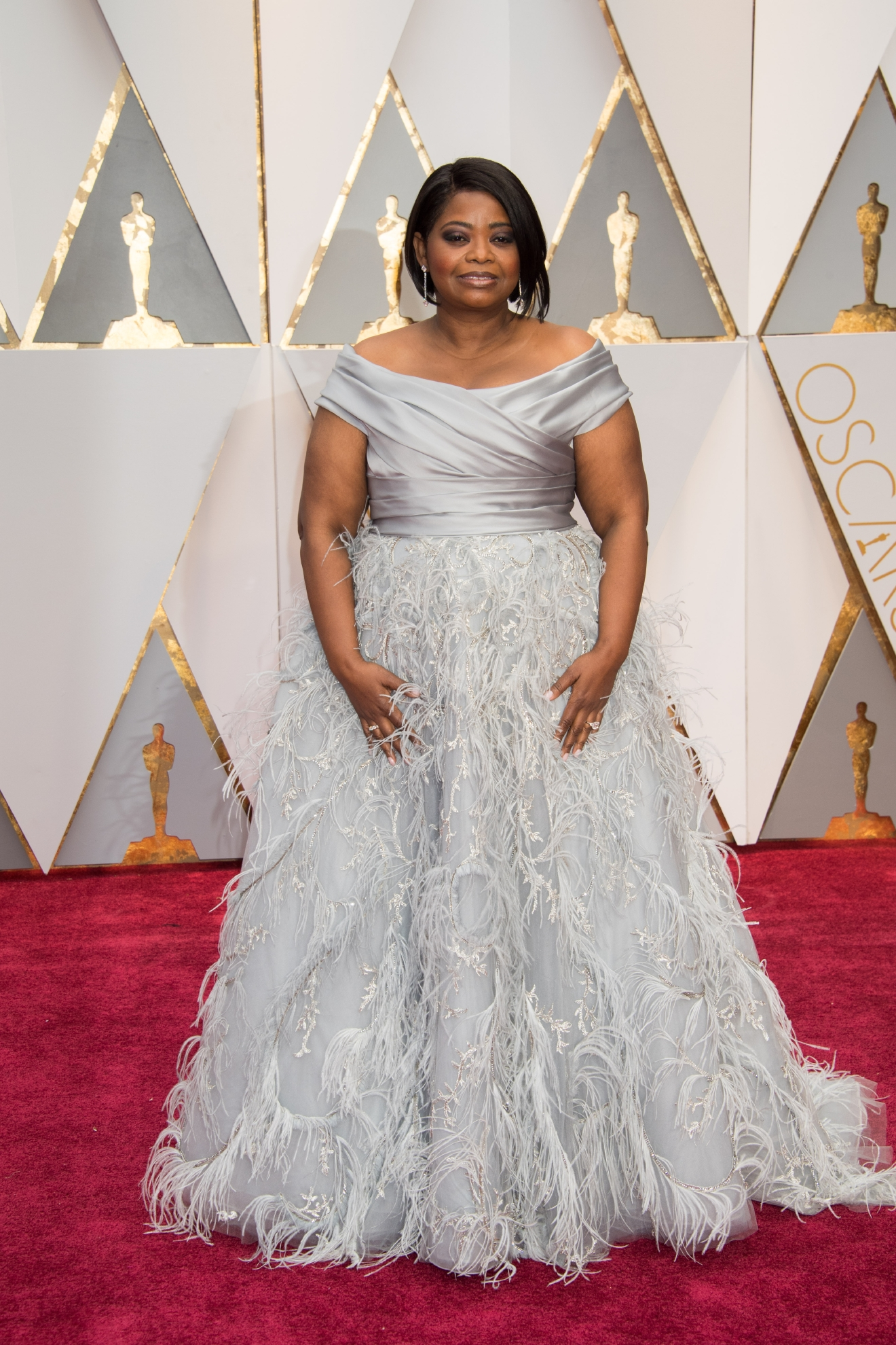 Octavia Spencer, Oscar® nominee, arrives on the red carpet of The 89th Oscars® at the Dolby® Theatre in Hollywood, CA on Sunday, February 26, 2017. (©A.M.P.A.S.)