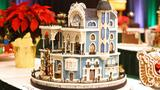 With judging Monday, Gingerbread House Competition entries go on display next week