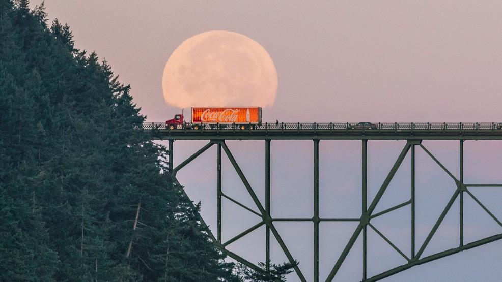Coca-Cola driver gets caught hauling 'moonshine' across Deception Pass Bridge