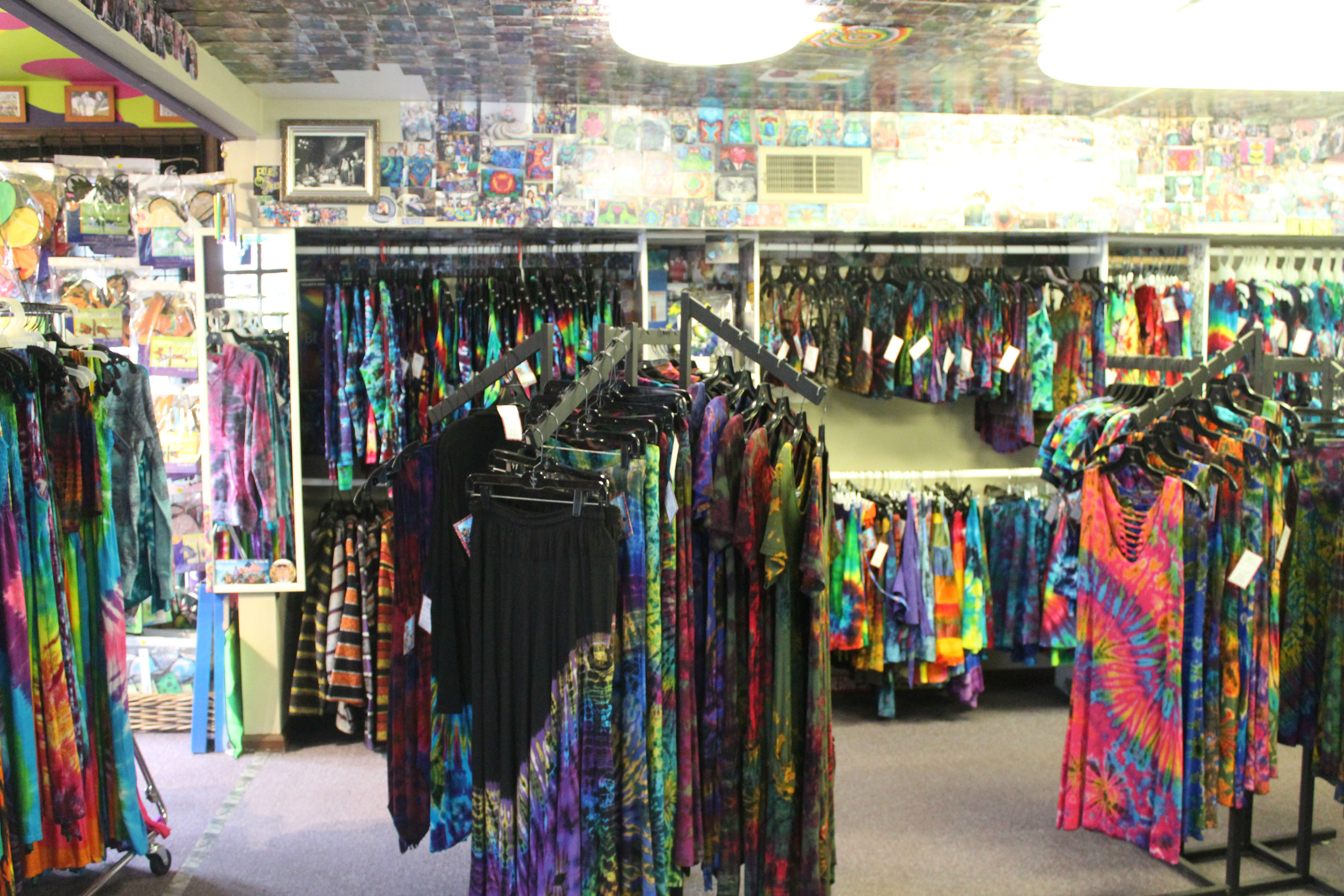 New Hope has an abundance of quirky stores, including fashion boutiques, sex shops, book stores, a tie-dye studio, psychics, ice cream parlors, candy stores, a comic book store, jewelers and more!{ }(Image: Julie Gallagher)