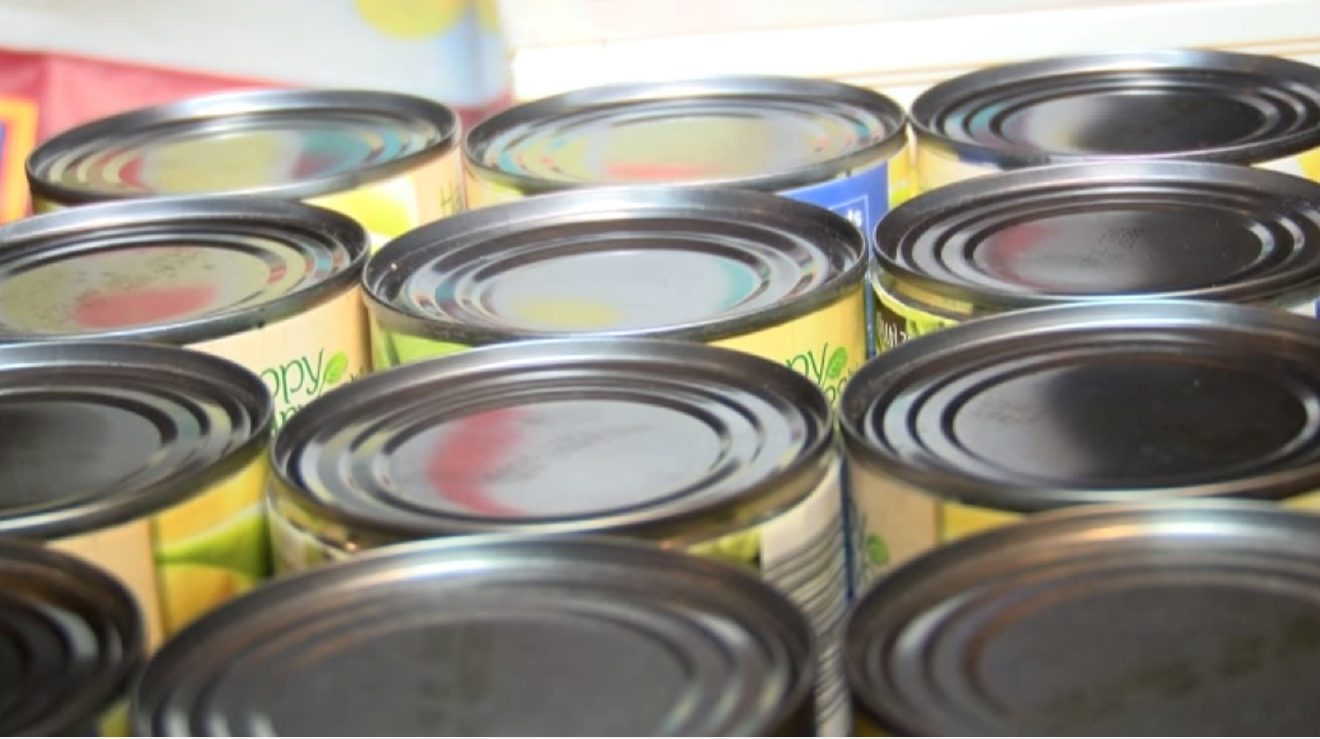 Robert's Canned Food Drive