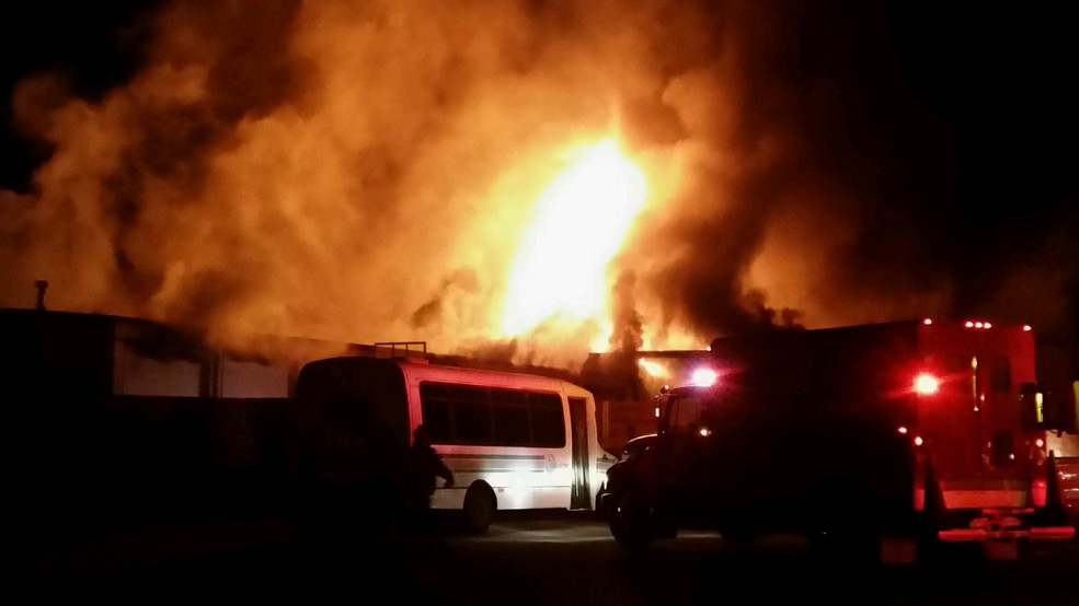 Franklin Ford Nc >> Sbi Investigating After Massive Fire At Franklin Ford Wmya