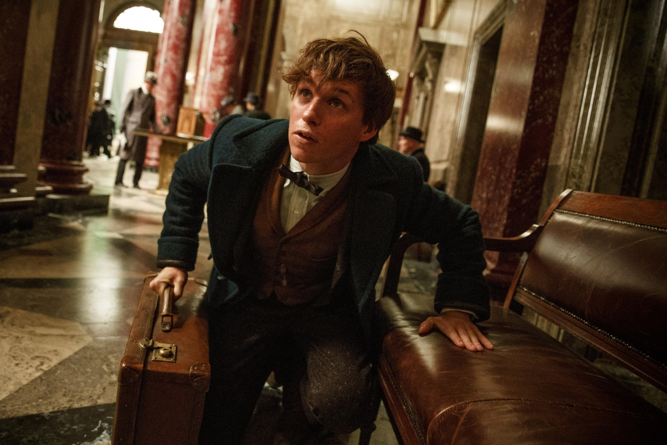 "EDDIE REDMAYNE as Newt Scamander in Warner Bros. Pictures' fantasy adventure ""FANTASTIC BEASTS AND WHERE TO FIND THEM,"" a Warner Bros. Pictures release. (Jaap Buitendijk)"