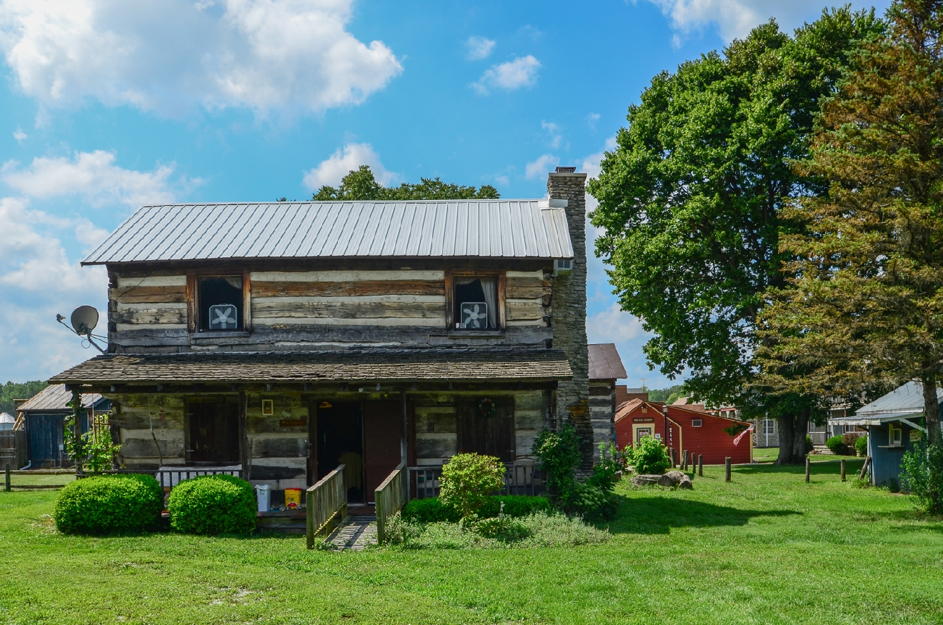 Beautiful Metamora, Indiana is located an hour northwest of Cincinnati. The canal town has the United States' only wooden aqueduct, horse-powered canal boats, a functioning railroad, hiking & biking trails, along with 40+ unique businesses all with a special 19th-century charm. / Image: Sherry Lachelle Photography