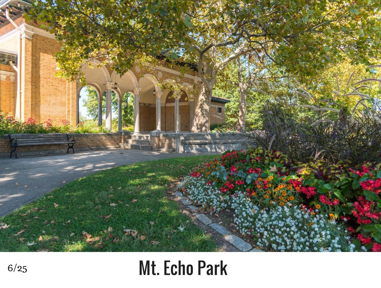 WHAT: Mt. Echo Park / WHERE: 202 Crestline Avenue, East Price Hill 45205 / Image: Phil Armstrong, Cincinnati Refined / Published: 10.27.16
