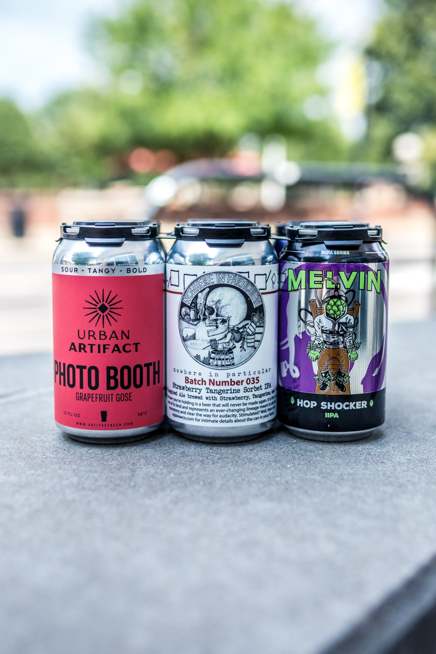 You can make a six pack to go or drink it in house. The packs can include cans, bottles, and rare beverages of your choosing. / Image: Catherine Viox // Published: 9.16.19