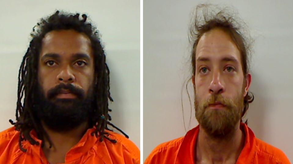 Eric Worthing and Adrien Sanders (Kennebec County Sheriff's Office)