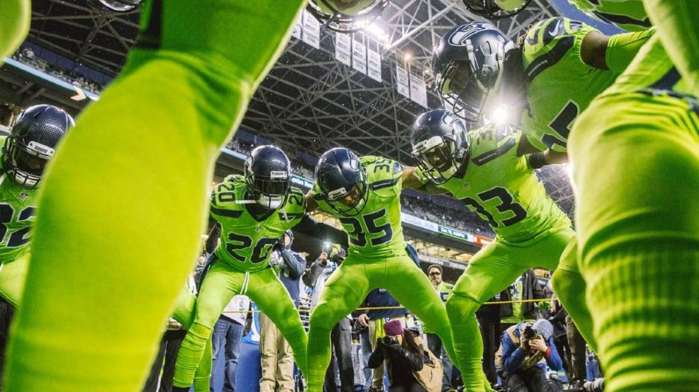 new product ea7d7 57554 Poll: What do you think of the Seahawks 'Action Green ...