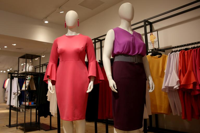 Fun fact: According to Bloomberg, 67% of women fall into the plus-size category, meaning a size 14 or above. A less fun fact: before Eloquii arrived, there were no stores in the Pentagon City Mall that catered  specifically to plus-size women. In fact, a lot of the brick-and-mortar stores only carry anything above a size 14 online. Fortunately, Eloquii has decided to make their Pentagon City pop-up store permanent and has relocated to more spacious quarters just a storefront away from their former location. The wildly popular retailer, which has previously only sold their products online, offers a higher-end experience that's lacking in the plus-size market. Fans of the brand won't be disappointed - the brick-and-mortar Eloquii offers some outfits that you can't get online. (Amanda Andrade-Rhoades/DC Refined)