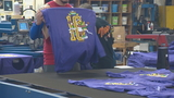 Turkey Trot t-shirts get printed