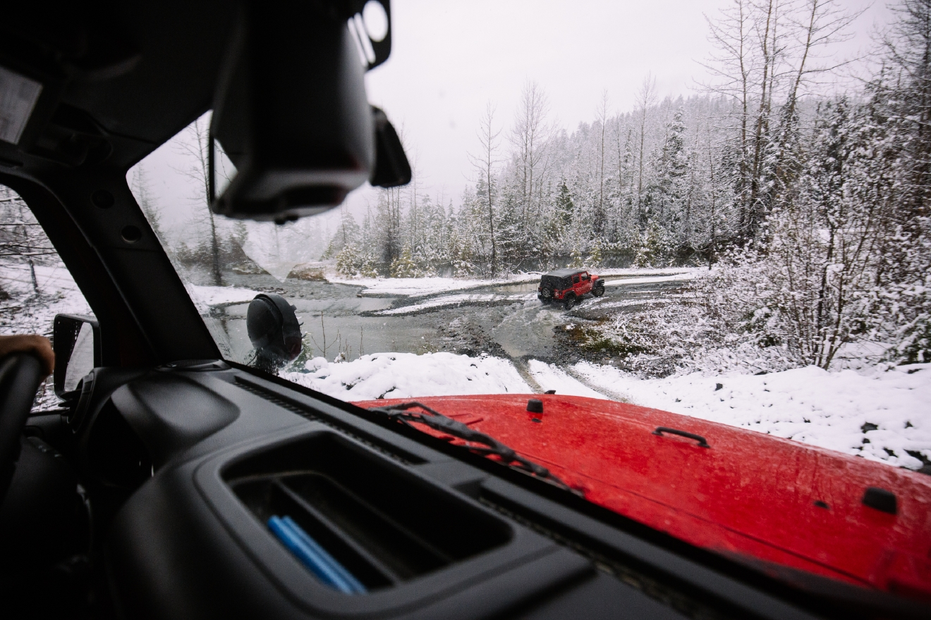 We discovered this magic on a recent trip around the Whistler wilderness with Canadian Wilderness Adventures. CWA takes folks in a Jeep through the mountains, all the while giving them a little history and nature lessons of what they're seeing. (Image: Joshua Lewis / Seattle Refined)