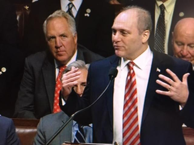 Rep. Scalise returns to Capitol Hill three months after GOP baseball practice shooting (ABC7)