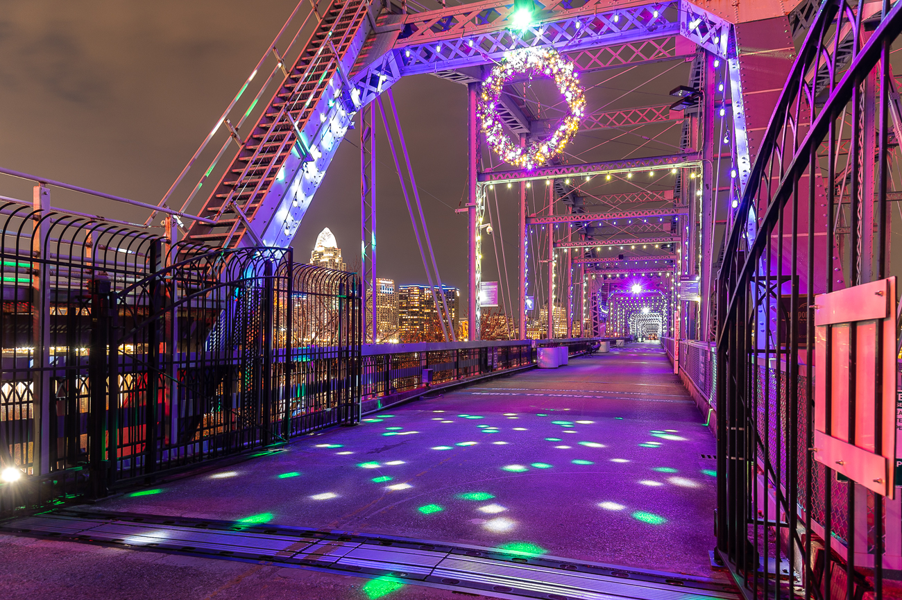 The Newport side has better lighting between the two ends of the bridge. / Image: Phil Armstrong // Published: 12.1.20