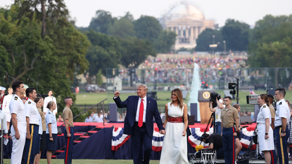 PHOTOS: President Trump's 'Salute to America' held on Independence Day 2020 in D.C.