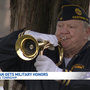 WWII veteran given military honor ceremony in Hastings