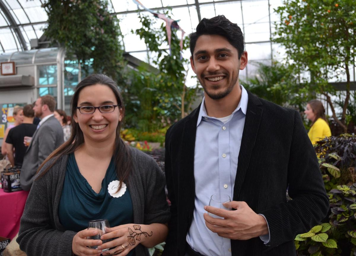 Erica Locke and Kumar Chatterjee (Image: Leah Zipperstein / Cincinnati Refined)