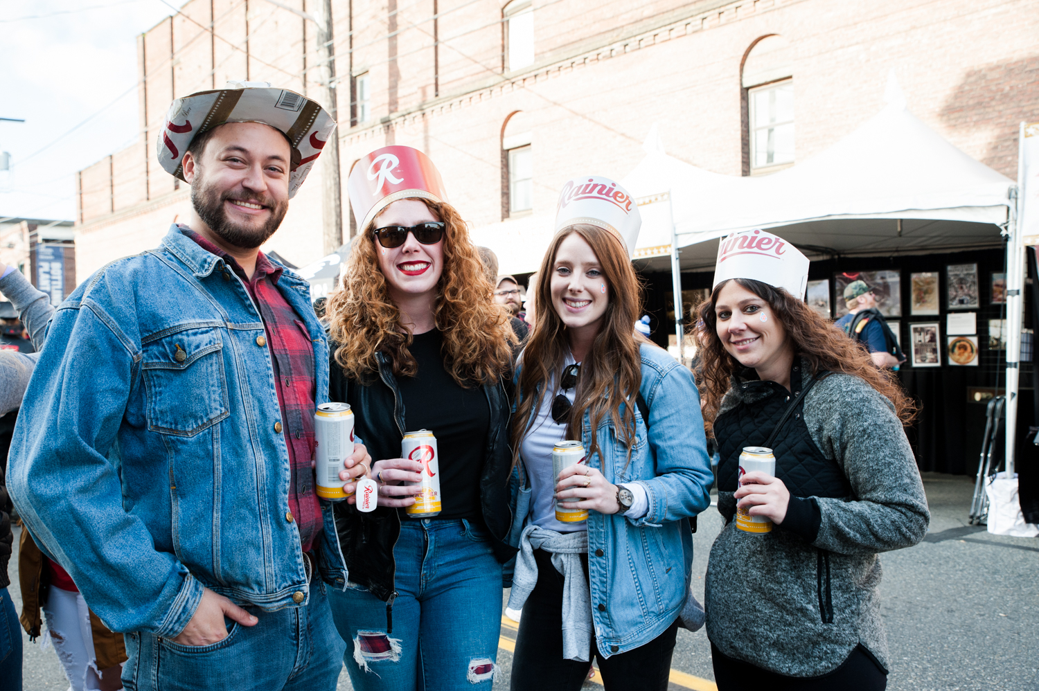 Beer enthusiasts were treated to a free event in Georgetown to celebrate 'R Day', an annual celebration of Rainier Beer's rich heritage. The day is filled with community, music and awesome merchandise. Patrons donned clothes, hats, jackets, emblazoned with the iconic 'R', all the while sipping delicious local brews. (Image: Elizabeth Crook / Seattle Refined)
