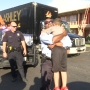 Police officer delivers surprise to bullied child