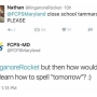 School employee fired for tweet aimed at student's spelling