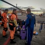 Coast Guard airlifts sick passenger from cruise ship in Strait of Juan de Fuca