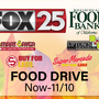 FOX 25 & Regional Food Bank of Oklahoma teaming up for Thanksgiving food drive