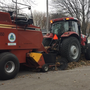 Wrapping up fall leaf collection in Green Bay