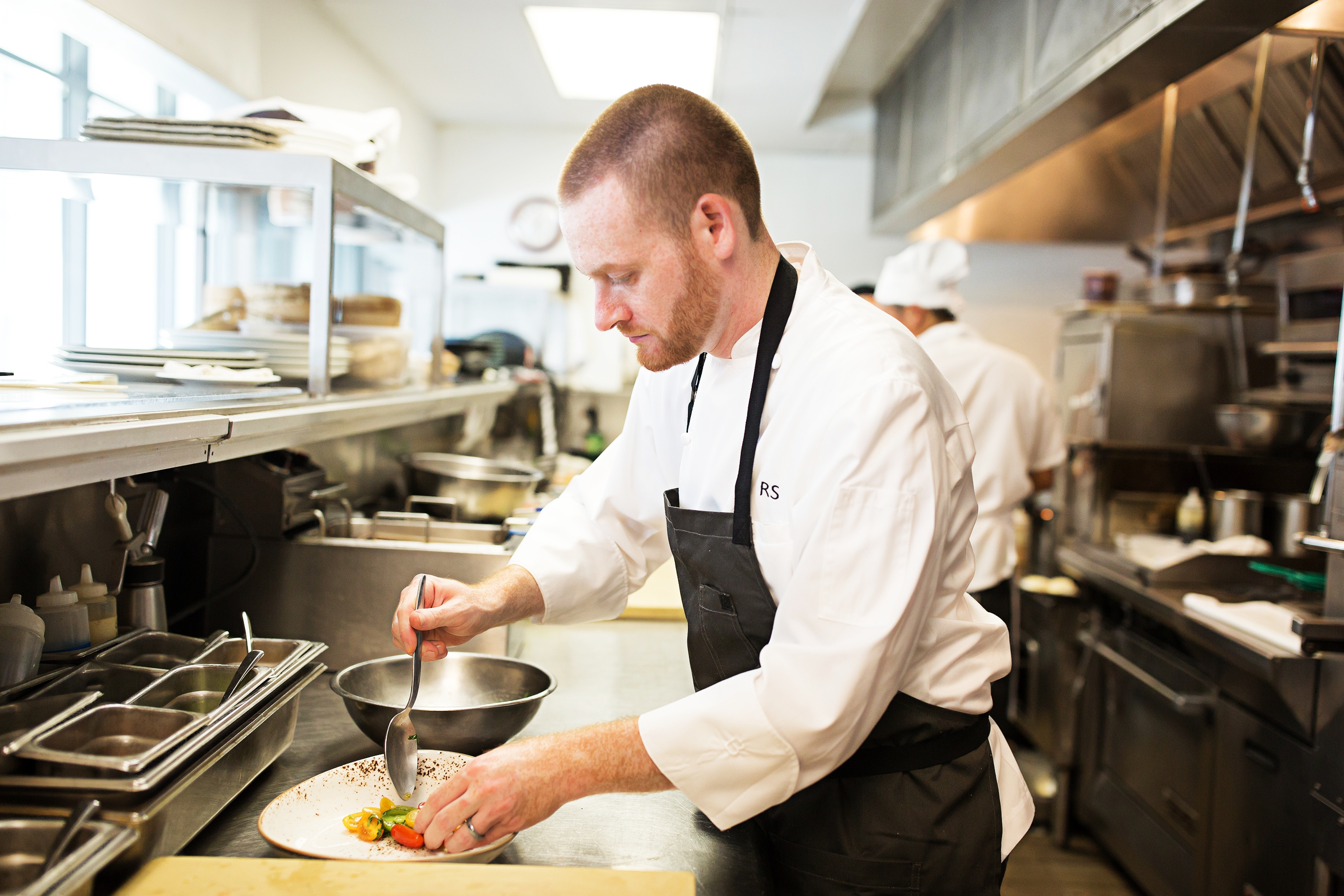 Russell Smith  is a finalist for Chef of the Year. (Image: Courtesy The Source)